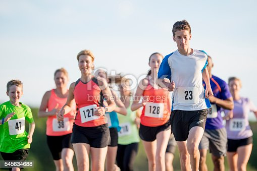 istock Runners Participating in a Race 545634688