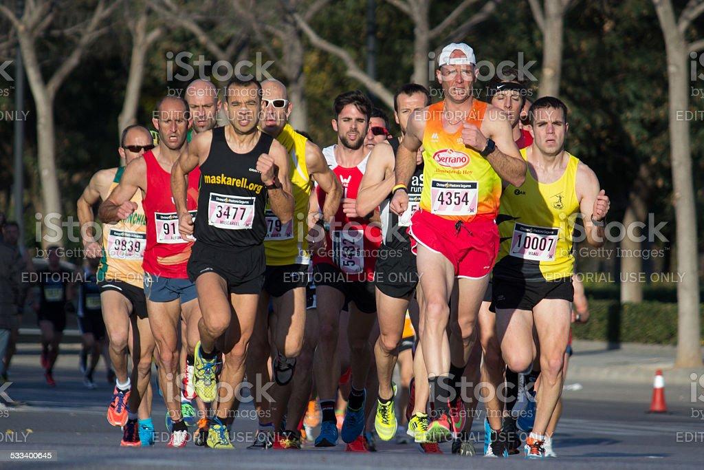 10 mil corredores - foto de acervo