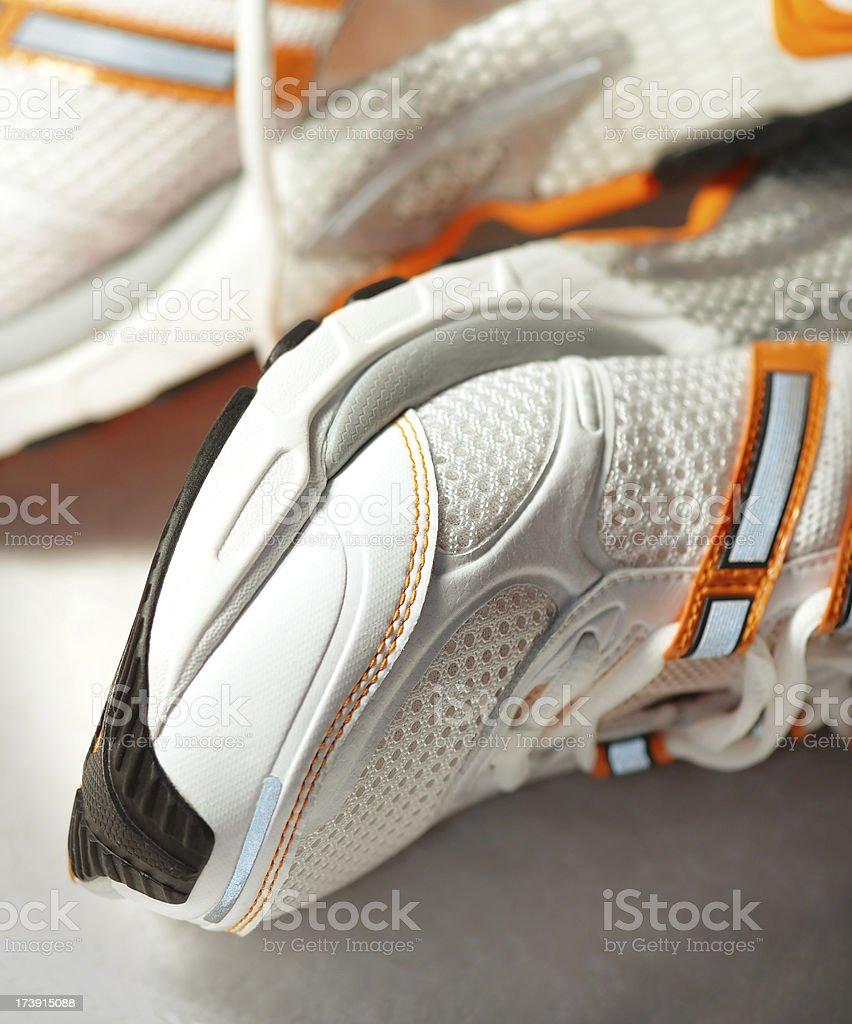 Runnig shoes stock photo