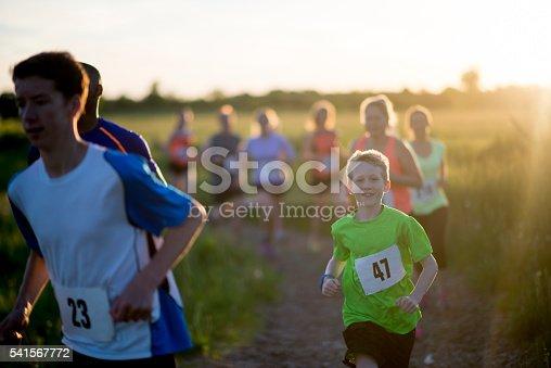 istock Running a Race Outdoors 541567772