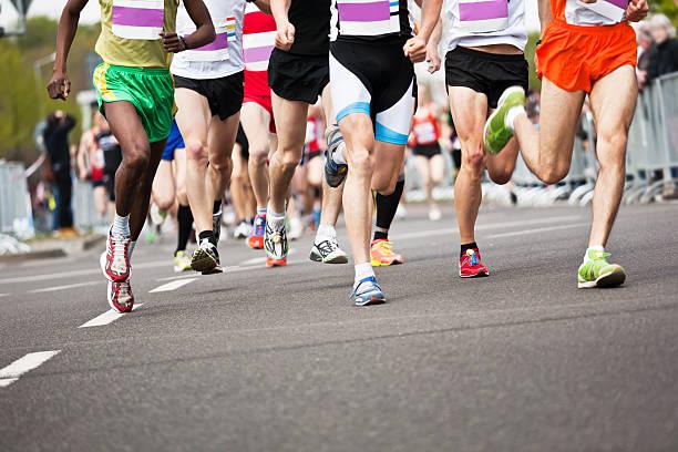 Lauf in der Marathon-Athleten – Foto