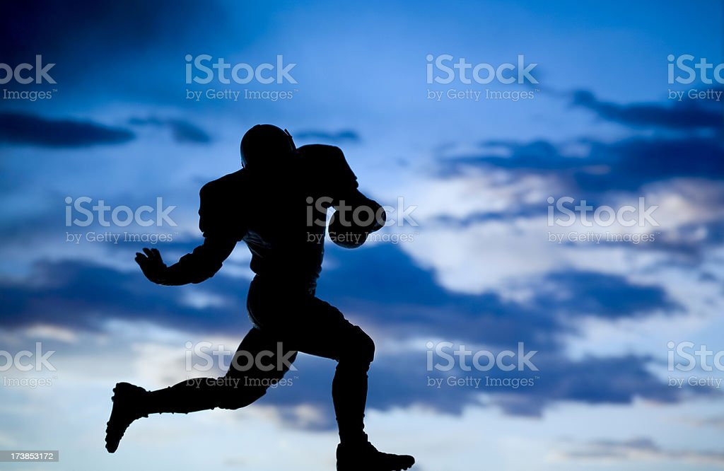 Running Back royalty-free stock photo