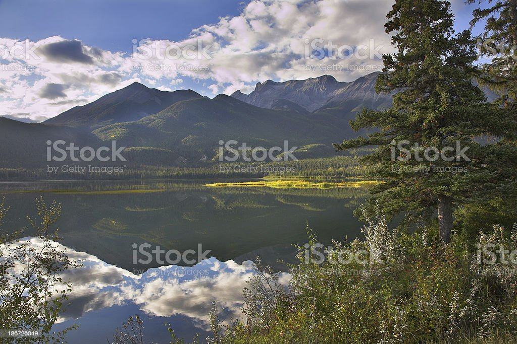 Running clouds. royalty-free stock photo