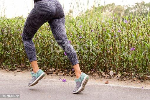 istock Running Flowers 497807972
