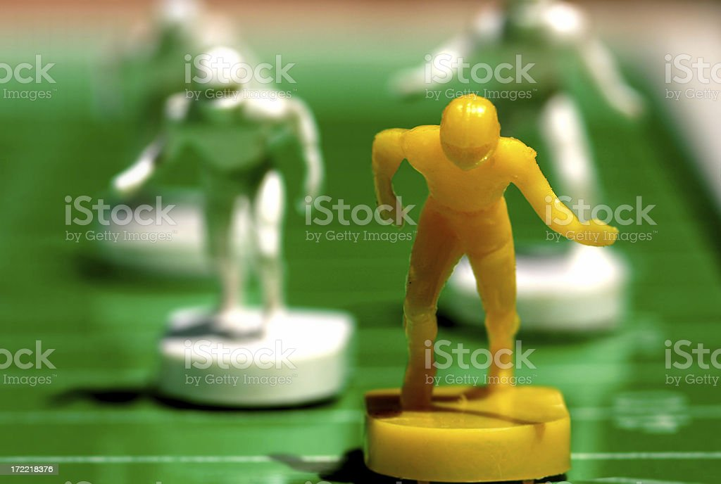 Running for a Touchdown royalty-free stock photo