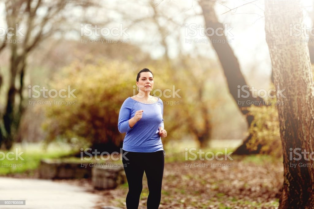 Running for Weight Loss stock photo