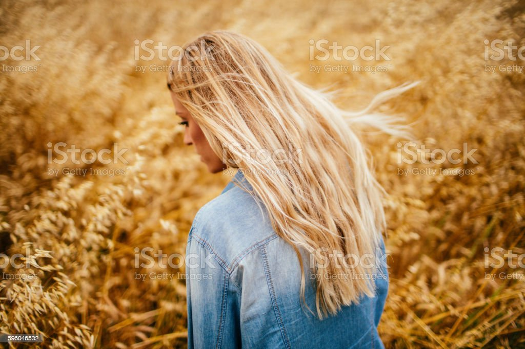 Running from it all royalty-free stock photo