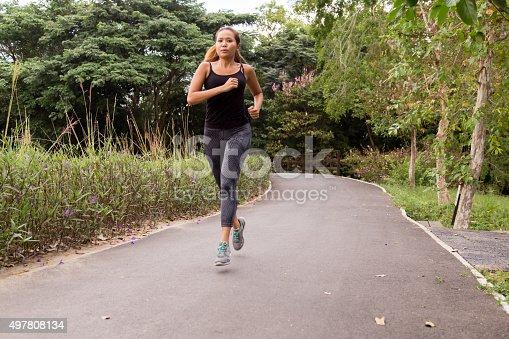 istock Running Head On 497808134