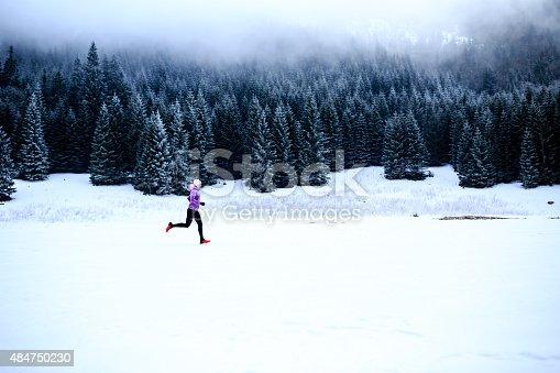 istock Running inspiration and motivation, runner 484750230