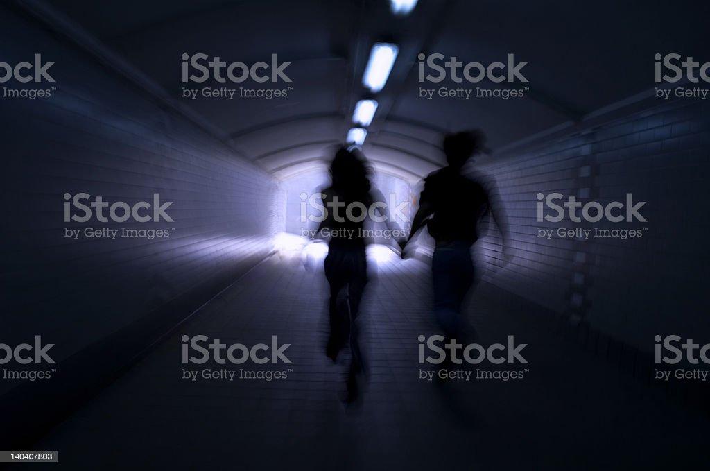 Corrida no luz - Foto de stock de Amor royalty-free