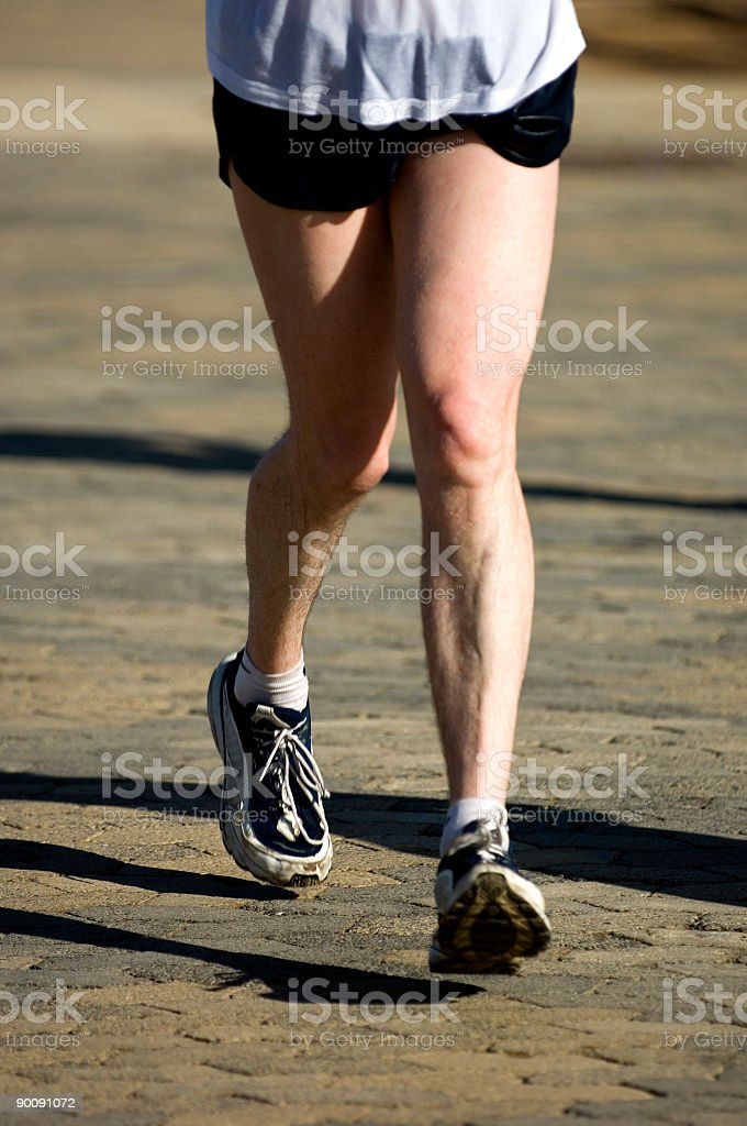 Running Is A Mind Game #59 royalty-free stock photo