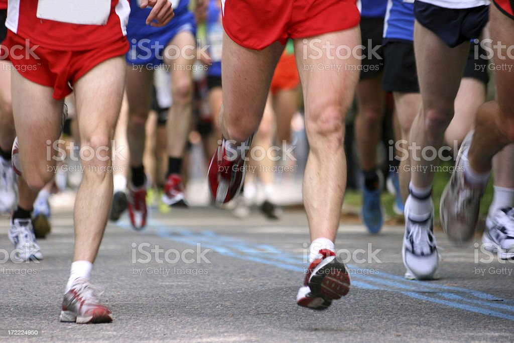 Running legs royalty-free stock photo
