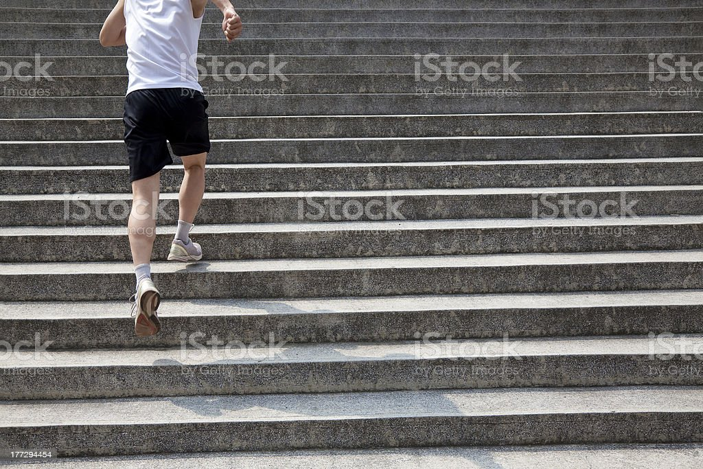 running man royalty-free stock photo