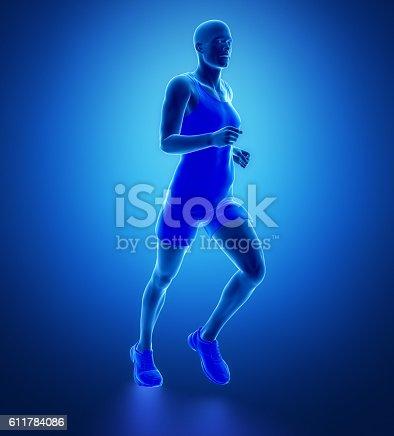 istock Running man 611784086