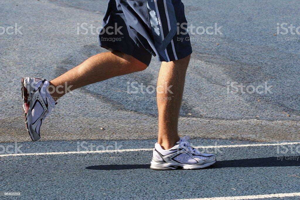 Running man - Royalty-free Adult Stock Photo