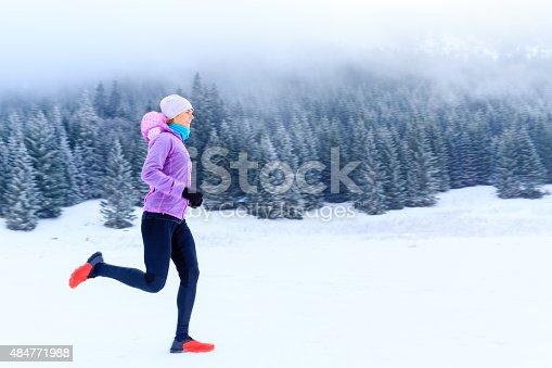 484750230 istock photo Running motivation, woman runner 484771988