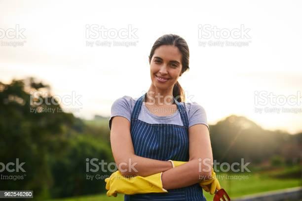 Foto de Minha Fazenda Em Execução Com Confiança e mais fotos de stock de Adulto