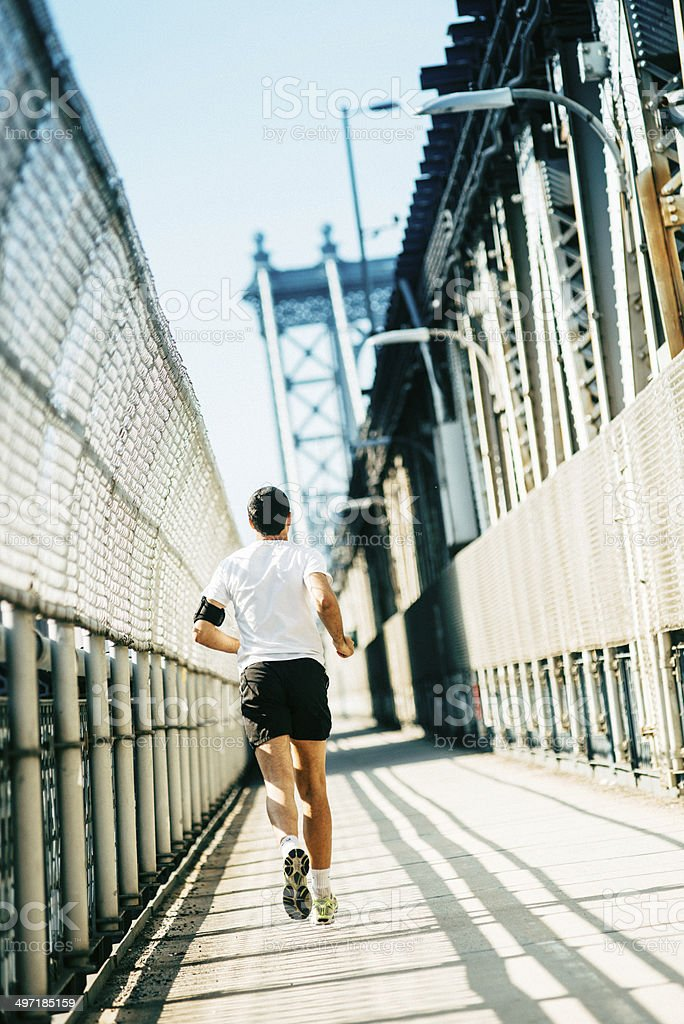 Running New York City royalty-free stock photo