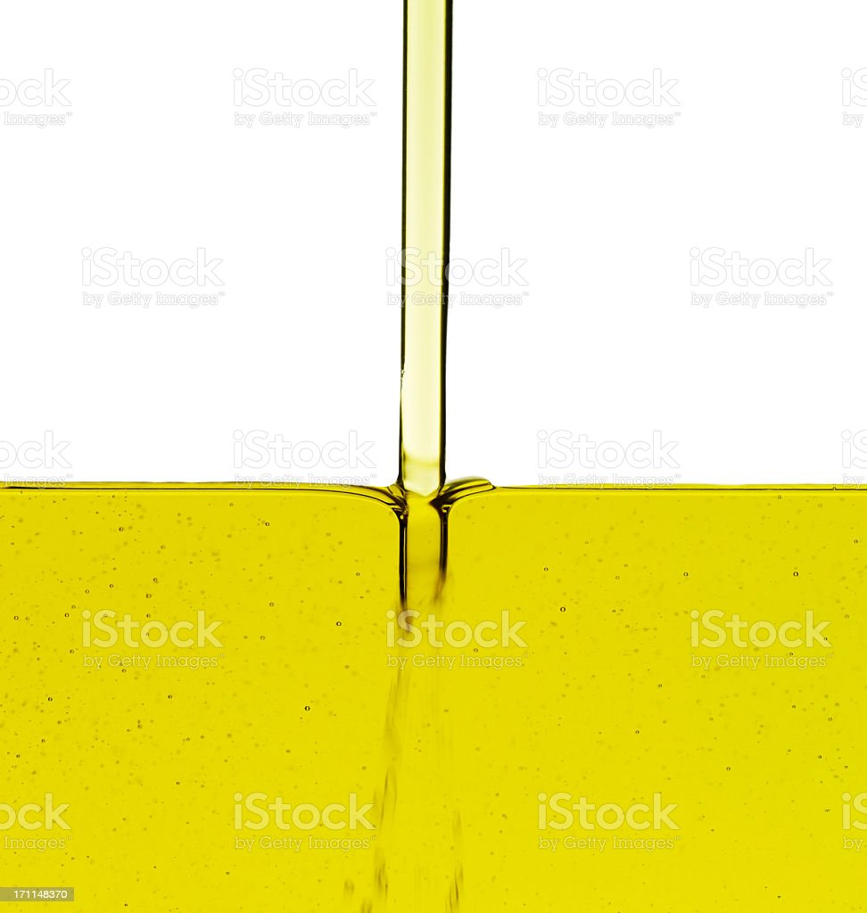 Running Oil royalty-free stock photo