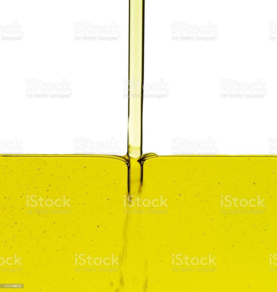 Aceite de funcionamiento - foto de stock
