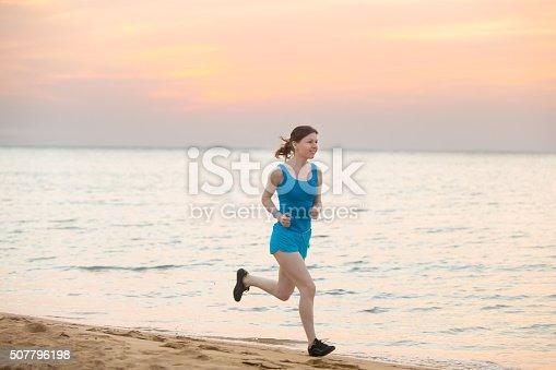 638628530 istock photo Running on the beach 507796198