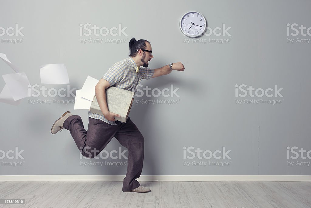 Running Out of Time stock photo