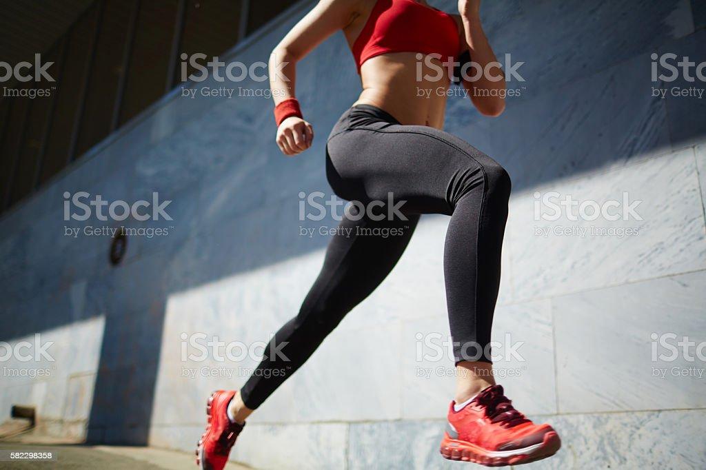 Running im Freien – Foto