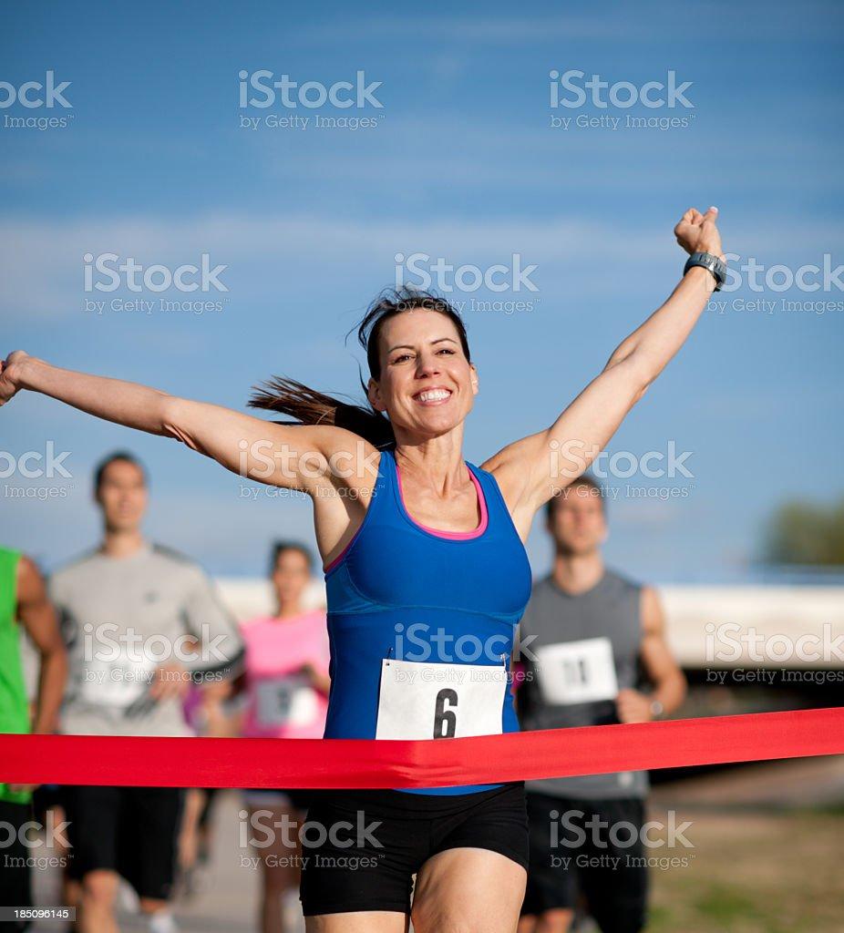 Running royalty-free stock photo