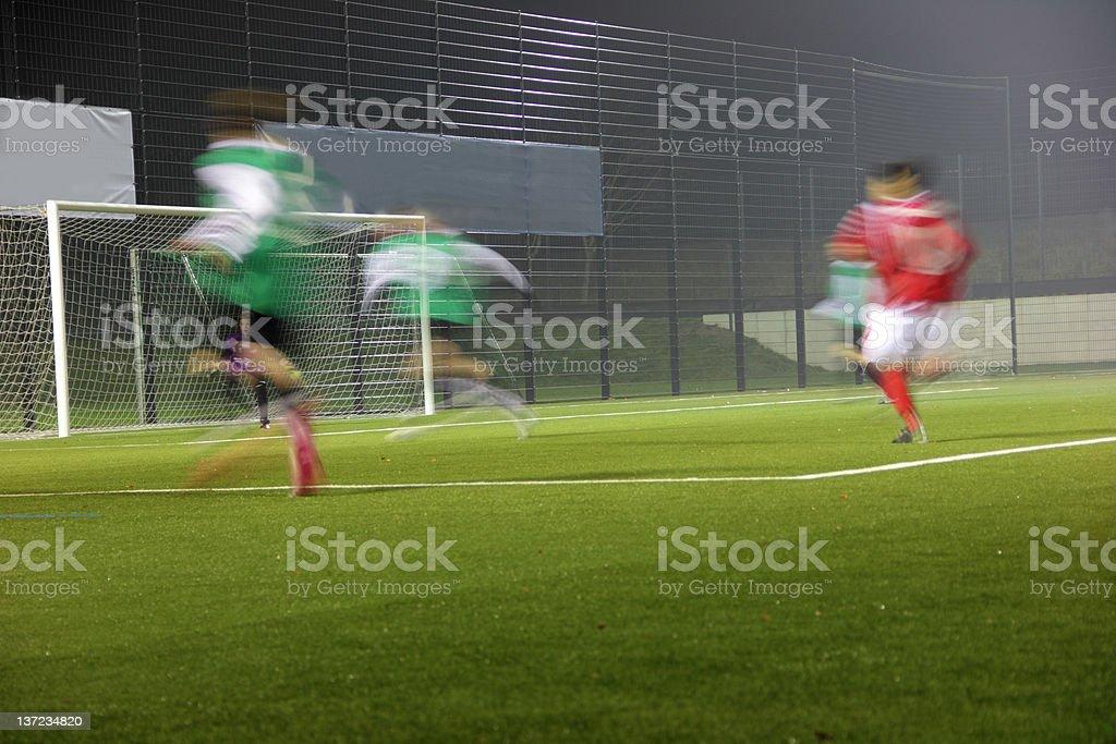 running players stock photo