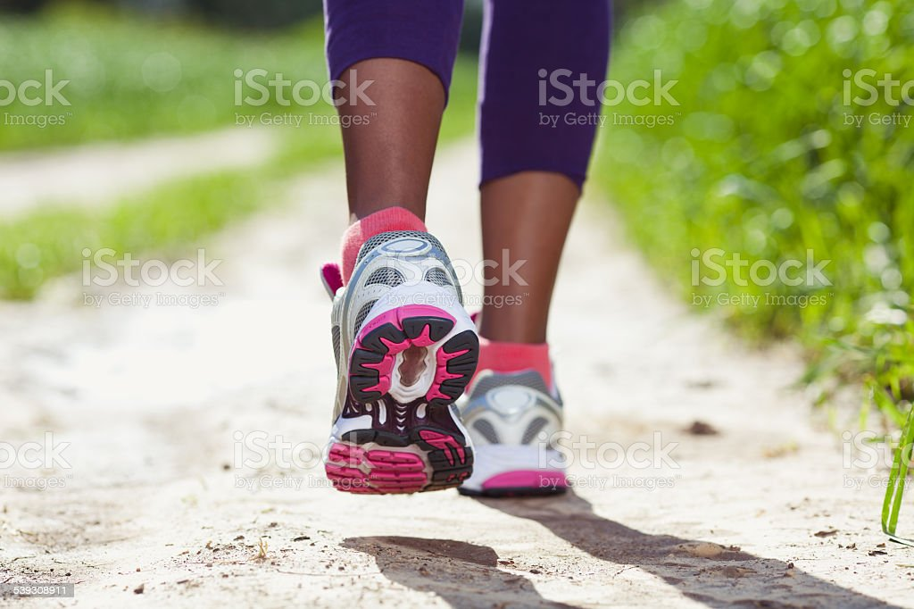 Running shoes. stock photo