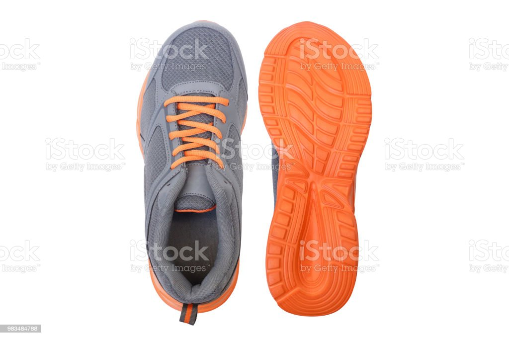 Running shoes stock photo