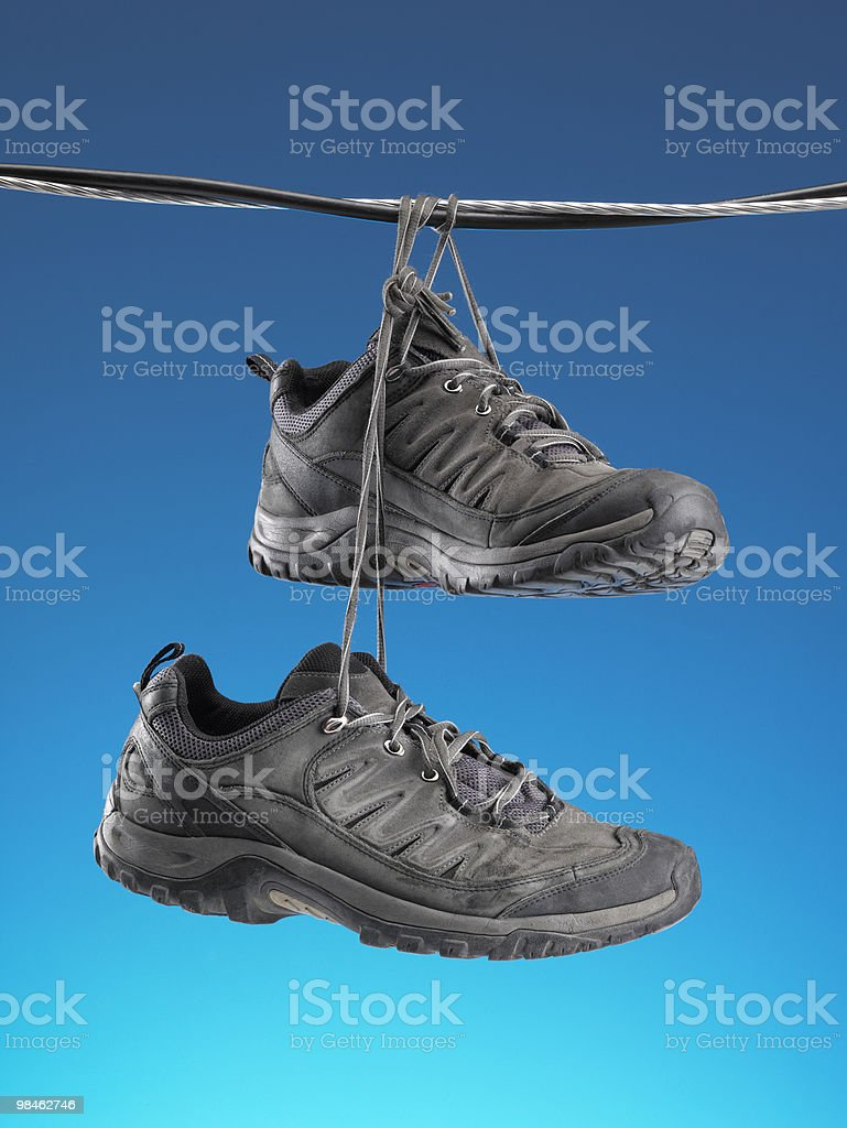 Running Shoes royalty-free stock photo