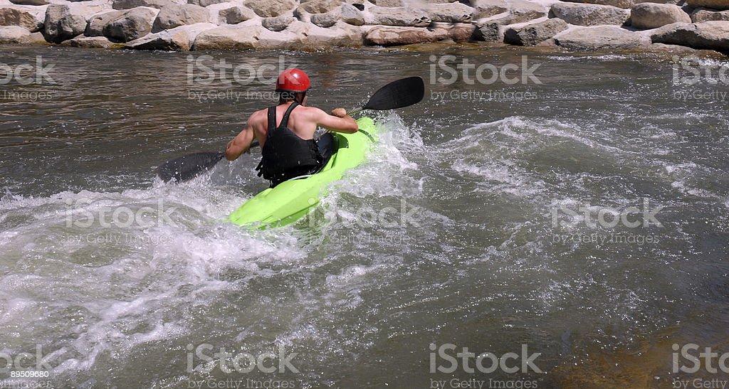 Course de la rivière photo libre de droits