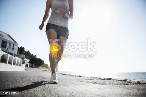 istock Running through the pain 512698353