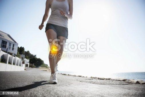512749661 istock photo Running through the pain 512698353