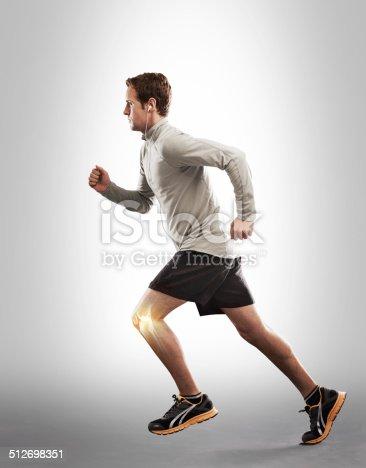 istock Running through the strain 512698351