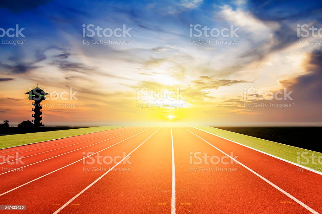 running track background stock photo more pictures of asphalt istock