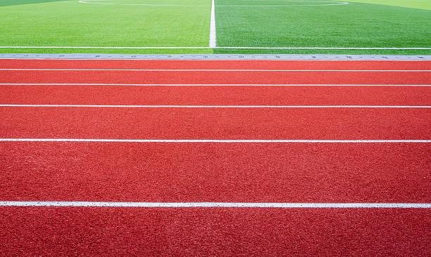 Running Track stock photo