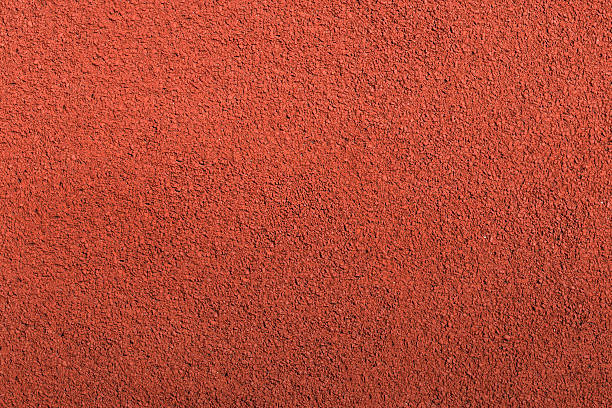 Running track rubber cover texture top view background. - Photo