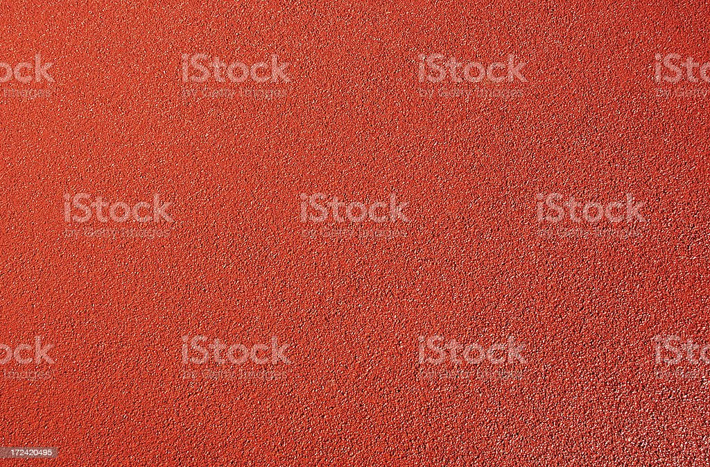 running track surface close-up stock photo