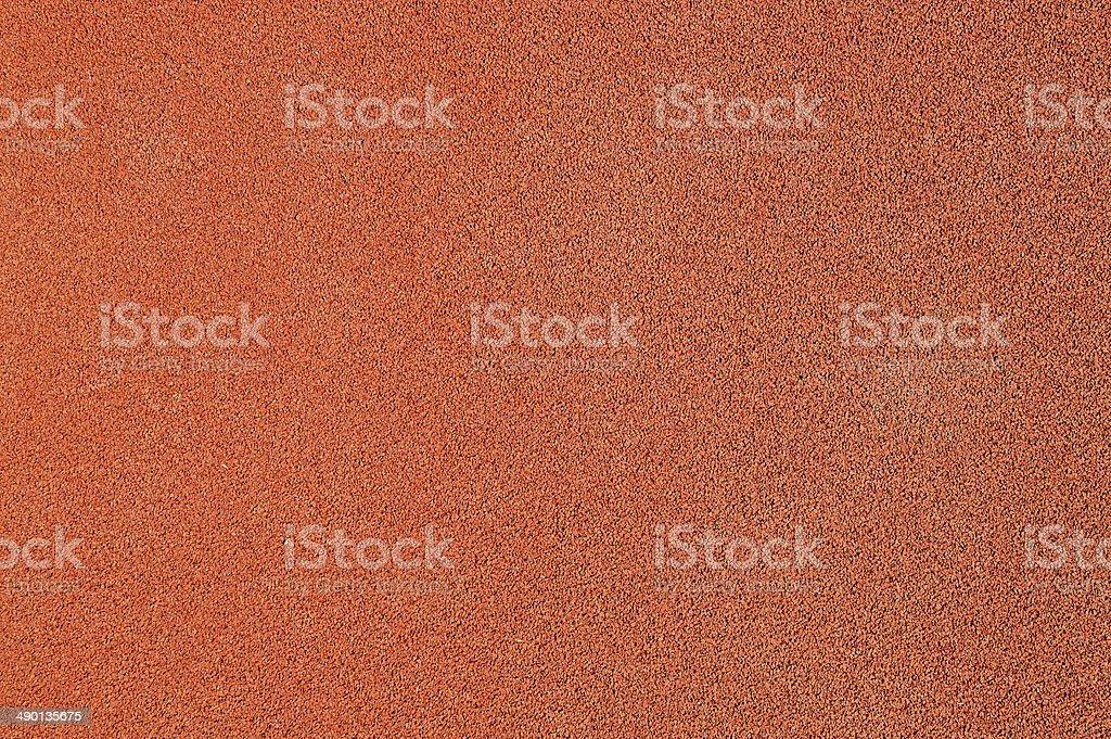 Running track surface stock photo