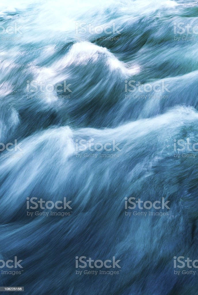 Running Water royalty-free stock photo