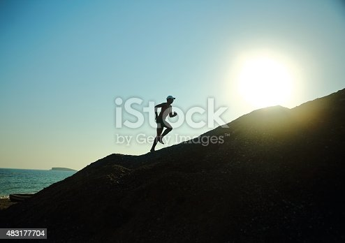 istock Running With The Sun 483177704