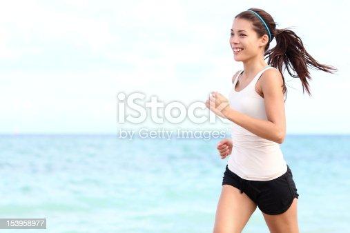 istock Running woman 153958977