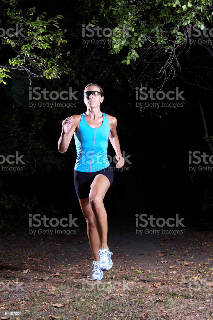 running woman royalty-free stock photo