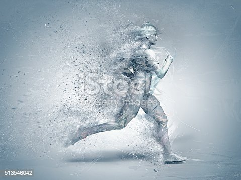 istock running,abstract 513546042