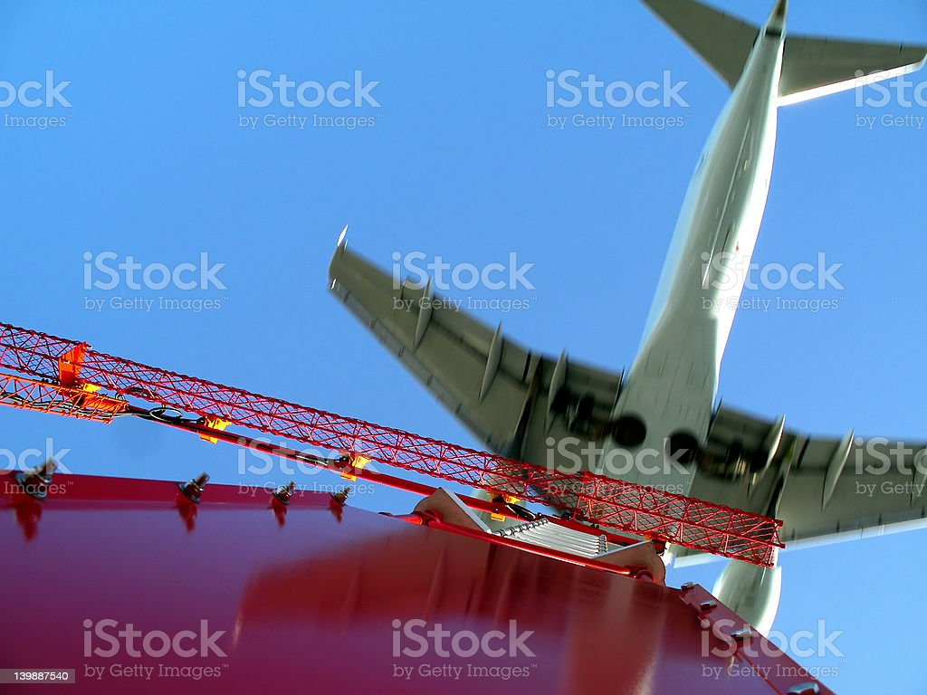 Runway 734 - Heading West royalty-free stock photo