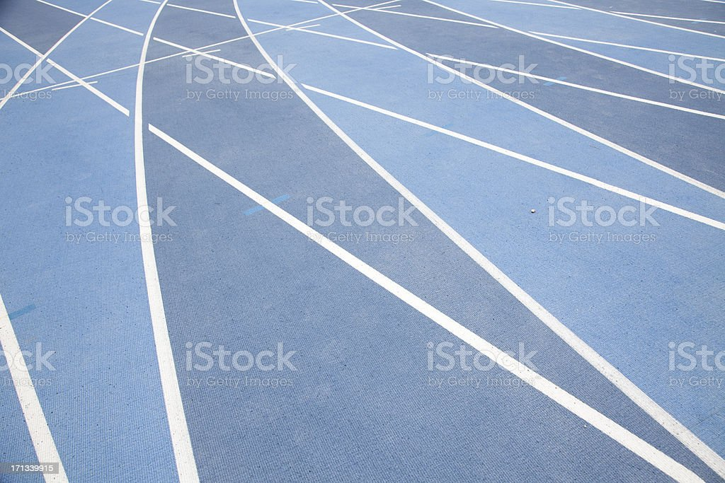 Runway track royalty-free stock photo