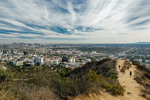 Runyon Canyon Park Los Angeles Kalifornien Stockfoto und mehr Bilder von Anhöhe