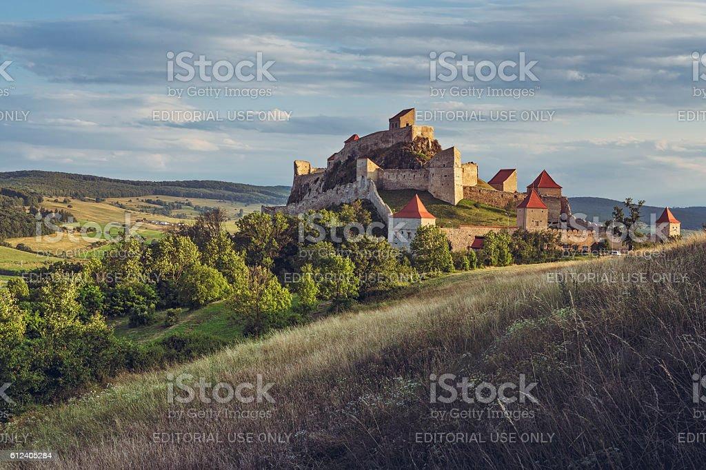 Rupea fortress, Romania stock photo